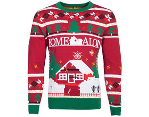 HOME ALONE knitted christmas ugly SWEATER