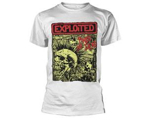 EXPLOITED punks not dead/wht TS