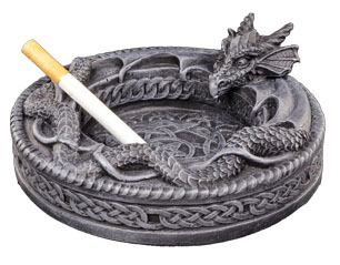 SKULLS dragon 766-3283 ASHTRAY