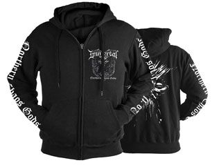 IMMORTAL northern chaos god/black ZIPPER