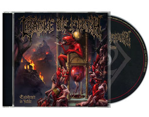 CRADLE OF FILTH existence is futile CD