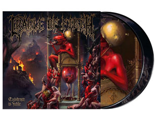 CRADLE OF FILTH existence is futile PICTURE VINYL