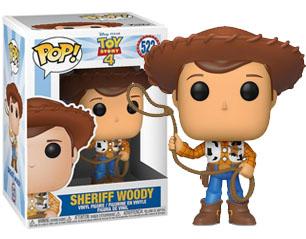 TOY STORY sheriff woody (522) 9cm POP FIGURE