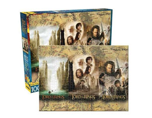 LORD OF THE RINGS triptych 1000 piece PUZZLE