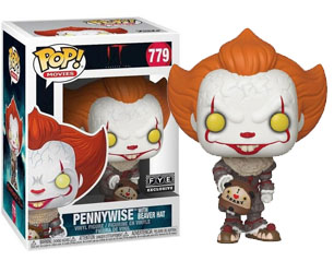 IT pennywise with beaver hat (779) POP FIGURE