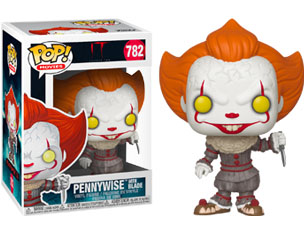 IT pennywise with blade (782) 9cm POP FIGURE