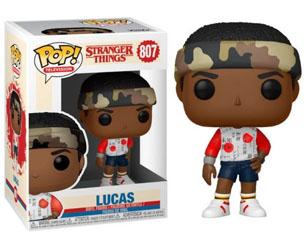 STRANGER THINGS lucas 807 POP FIGURE
