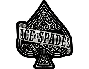 MOTORHEAD ace of spades cut out STICKER