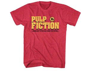 PULP FICTION logo RED TS