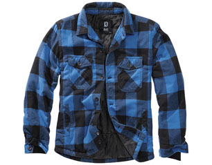 BRANDIT lumberjacket black-blue 9478.183 JACKET