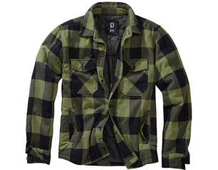 BRANDIT lumberjacket black-olive 9478.184 JACKET