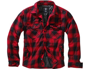 BRANDIT lumberjacket red-black 9478.41 JACKET