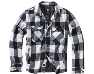 BRANDIT lumberjacket white-black 9478.46 JACKET