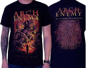 ARCH ENEMY first day in hell tour summer 2019 TS