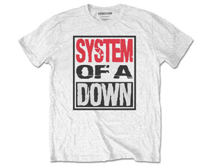 SYSTEM OF A DOWN triple stack box/wht TS