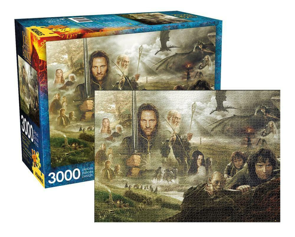LORD OF THE RINGS characters 3000 piece PUZZLE