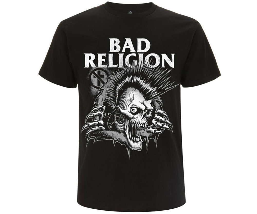 BAD RELIGION bust out TS
