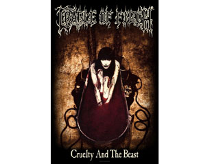 CRADLE OF FILTH cruelty and the beast HQ TEXTILE POSTER