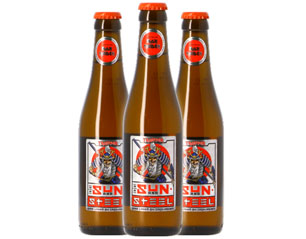 IRON MAIDEN trooper sun & steel sake lager BEER
