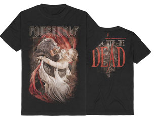 POWERWOLF dancing with the dead TS