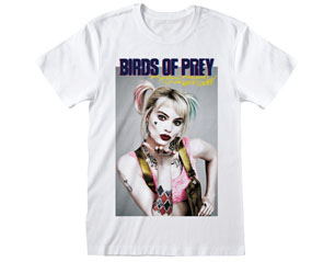 BIRDS OF PREY poster style white TS