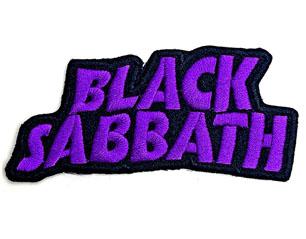 BLACK SABBATH cut out wavy logo WPATCH