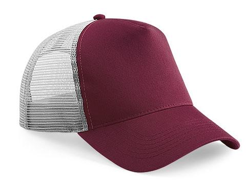 CAP burgundy/light grey trucker CAP