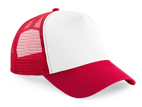 CAP classic red/white trucker CAP