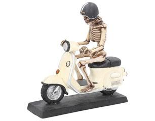 SKULLS  scooter 20cm FIGURE