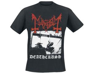 MAYHEM deathcrush BLACK TS