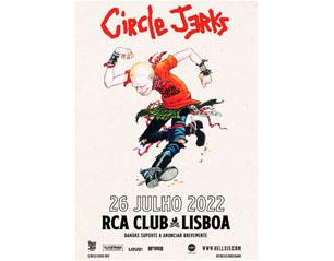 CIRCLE JERKS lisboa TICKET