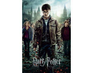 HARRY POTTER 7 part 2 one sheet POSTER