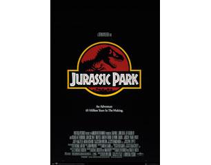 JURASSIC PARK one sheet POSTER
