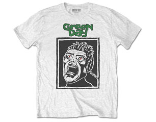 GREEN DAY scream/wht TS