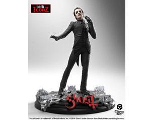 GHOST rock iconz statue cardinal copia black tuxedo STATUE