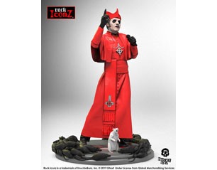 GHOST rock iconz statue cardinal copia red cassock STATUE