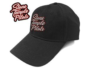 STONE TEMPLE PILOTS scroll logo baseball CAP