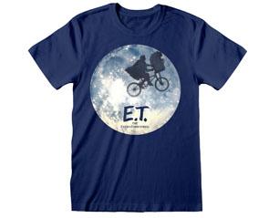 ET moon silhouette DARK BLUE TS