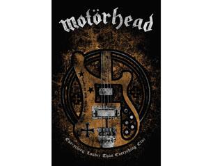 MOTORHEAD lemmy bass HQ TEXTILE POSTER