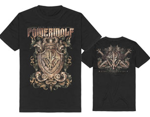 POWERWOLF metal est religio crest TS
