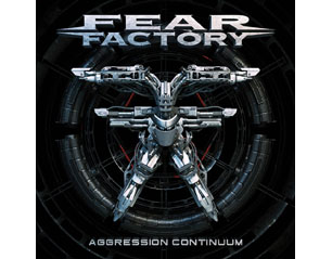 FEAR FACTORY aggression continuum CD