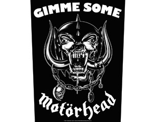 MOTORHEAD gimme some BACKPATCH
