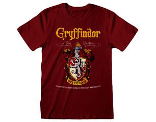 HARRY POTTER gryffindor crest maroon TS