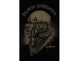 BLACK SABBATH usa tour 78 HQ TEXTILE POSTER