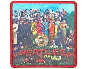 BEATLES sgt pepper album cover WPATCH