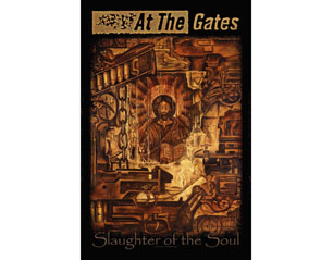 AT THE GATES slaughter of the soul  HQ TEXTILE POSTER