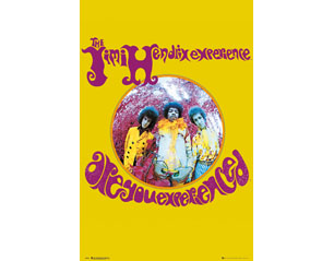 JIMI HENDRIX experience/yellow POSTER