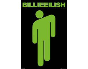 BILLIE EILISH stickman POSTER
