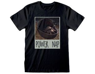 MANDALORIAN power nap black TS
