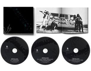 METALLICA black album 30th anniv expanded 3 CD
